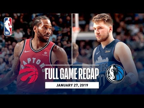 Full Game Recap: Raptors vs Mavericks | Luka Doncic Records His 2nd Triple-Double