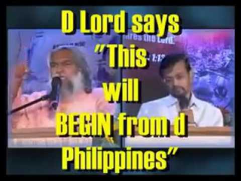 Philippine Prophecy / Predictions/ Prophet Sadhu