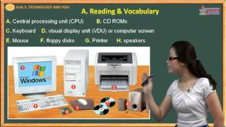 Tiếng anh lớp 10 - Unit. 5 - Technology and you - Reading - Vocabulary