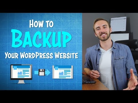 How to Backup Your WordPress Website in 5 Min | 2019