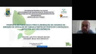 EMISSÃO DE POLUENTES ATMOSFÉRICOS NA OPERAÇÃO DE VEÍCULOS DE CARGA