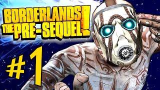 Borderlands The Pre-Sequel - Parte 1: CL4P-TP Vault Hunter e Jack Bonzinho? [ Playthrough - PC ]