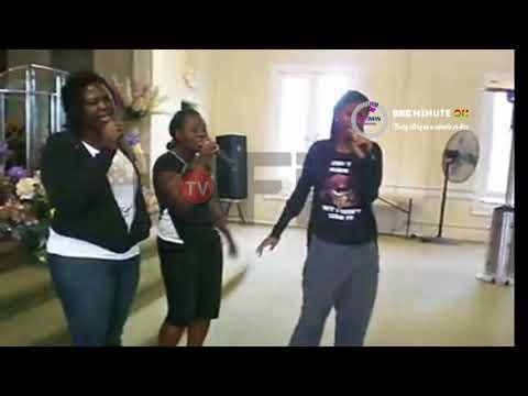 3BONY'S FRANKY KURI LEADS PRAISES IN CHURCH