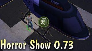 Сбежали на вертолете Horror Show 0.73! Новый выживший Наварро! как дбд мобайл