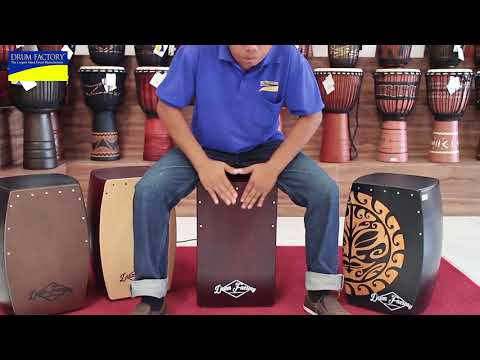Bali Treasures - Cajon Drum Fix Snare Red Mahogany