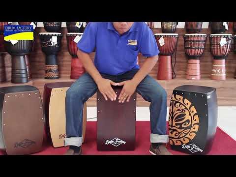 Bali Treasures - Cajon Drum Fix Snare Red Mahogany