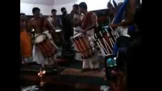 Winter Solstice Celebration, Rourkela, Thayambaka (Indian Martial Drums) by Shasi and Troupe.