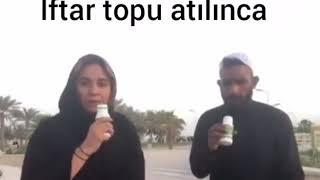 İftar topu atılınca (Ramazan ayına özel komik video / vine)