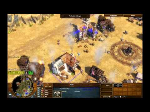 Trust - Age of Empires 3 The Warchiefs - Act 2 Mission 6 - Hard Walkthrough