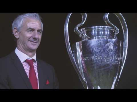 UEFA CHAMPIONS LEAGUE - TROPHIES ARRIVE IN WALES FOR FINALS