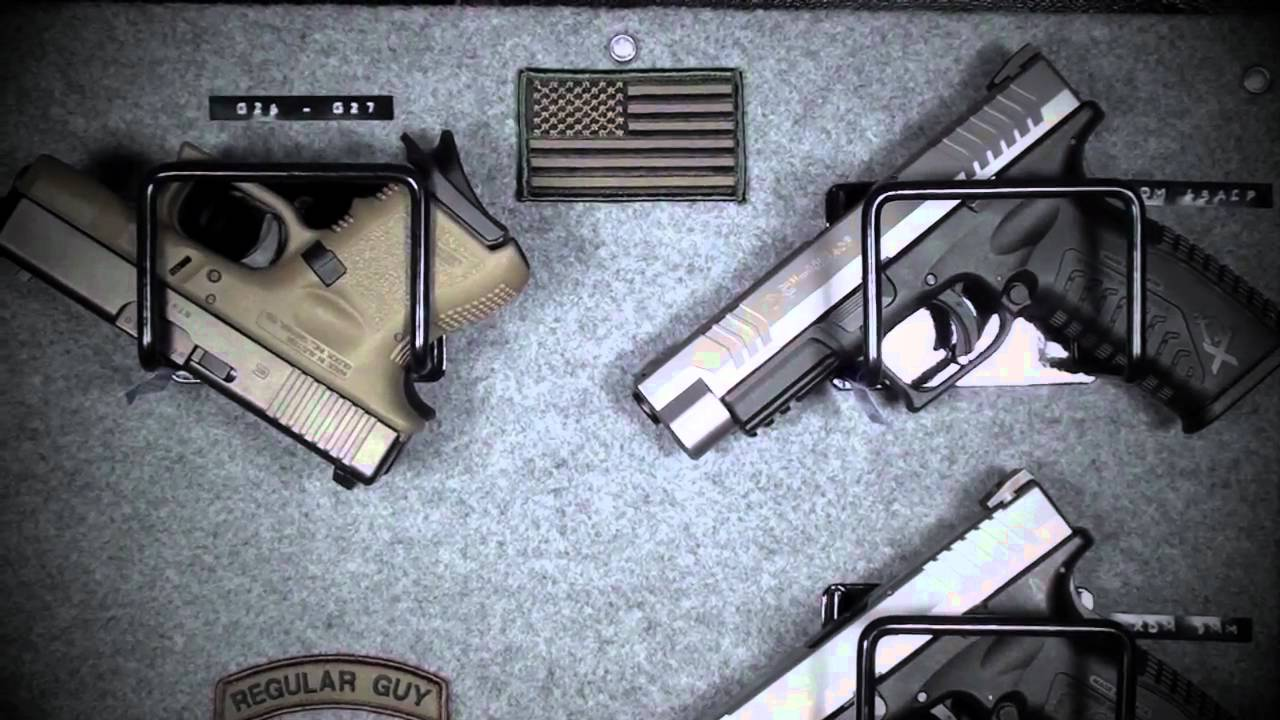 Gun Safe Pistol Mounts Youtube