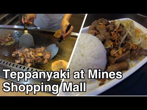 Teppanyaki for Dinner at Mines Shopping Mall Malaysia