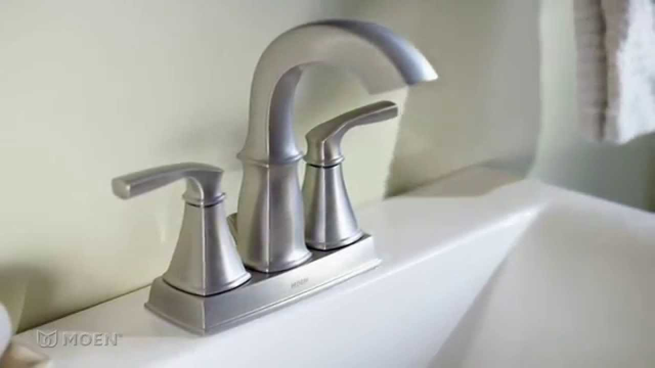 Hensley Spot Resist Stainless Microban Bathroom Faucet | Moen ...
