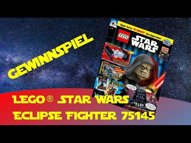 Lego Star Wars Magazin Ausgabe 72 - Gewinnspiel - Jedi Starfighter