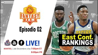 Fantasy Basketball 2020-21: Eastern Conference Division Ranks + News - EP 02