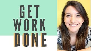 BLOGGERS: STOP PROCRASTINATING AND GET WORK DONE!