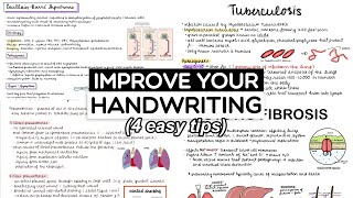 How to Improve Your Handwriting Fast (4 EASY TIPS! + free worksheet)