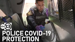 How law enforcement are protecting themselves from COVID-19