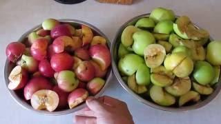 Делаю яблочный уксус - 1 часть.