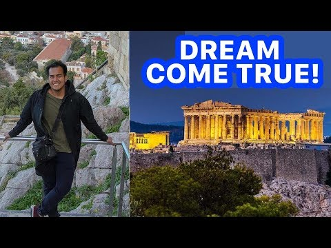 HOW TO TRAVEL ATHENS ON A BUDGET | Travel Goal #12