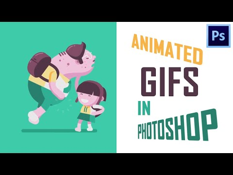 How to make an Animated GIF in Photoshop ?