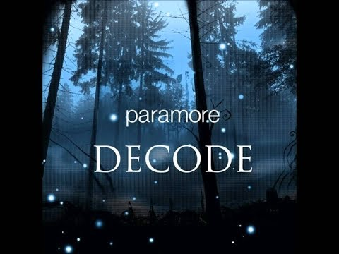 Paramore - Decode(Acoustic Instrumental)