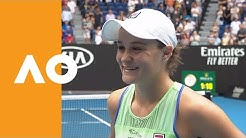 Ash Barty on-court interview (3R) | Australian Open 2020
