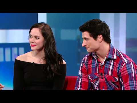 Tessa Virtue And Scott Moir: INTERVIEW