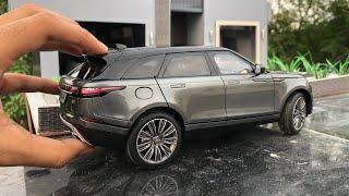 Unboxing of Mini Range Rover Velar Diecast Model | Vogue | Land Rover Shop