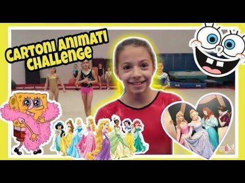 BABY CARTOON CHALLENGE Ginnastica Artistica CSB