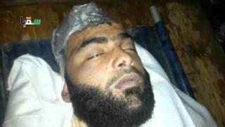 سقبا 21-02-2016 جثمان الشهيد أسامة عبد الله الريحان (الملقب بالزبير)