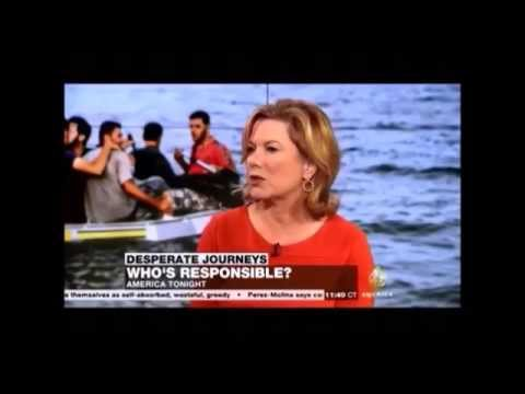 "9 04 Al Jazeera America Sheila MacVicar explain EU Refugees policy based on the ""Dublin Convention"""