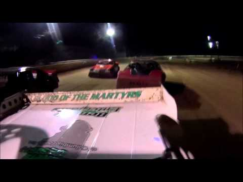 Tyler Sistrunk Motorsports - North Florida Speedway - D4R Series - 3-26-2016 - Rear View Cam