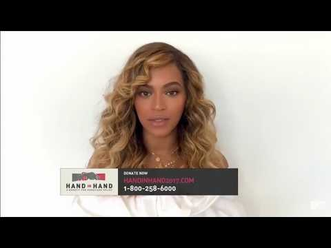 "Beyoncé - ""Hand In Hand"" A Benefit For Hurricane Relief 