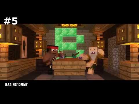 top 10 minecraft music videos of december 2012
