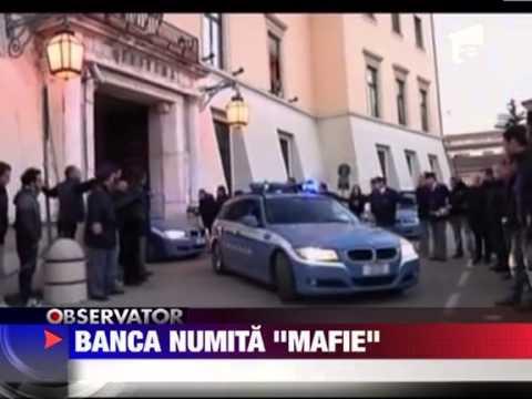Mafia devine cea mai mare banca din Italia 13 IANUARIE 2012
