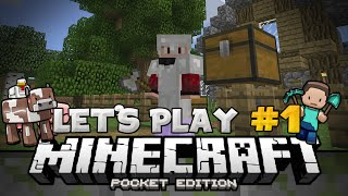 the return of 0140 survival lets play ep 1 minecraft pe pocket edition