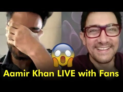 Aamir Khan chats with  on Facebook LIVE