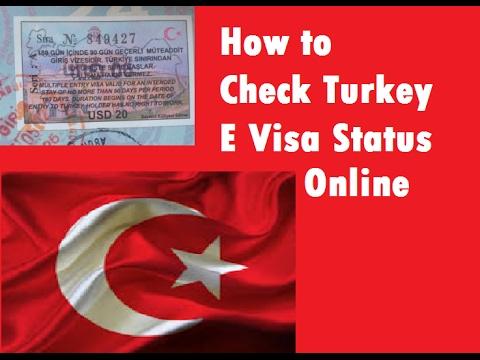 How to Check Turkey E Visa Status Online