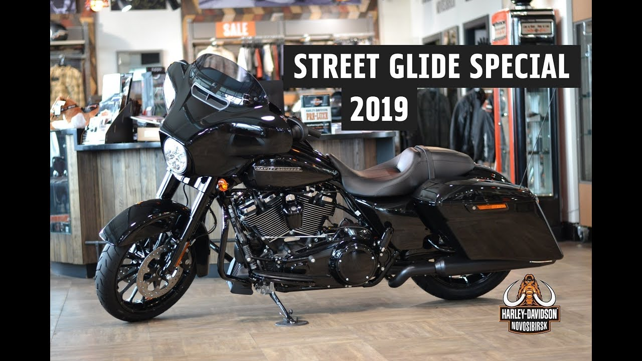 Street Glide Special 114 Harley Davidson 2019 Vivid Black