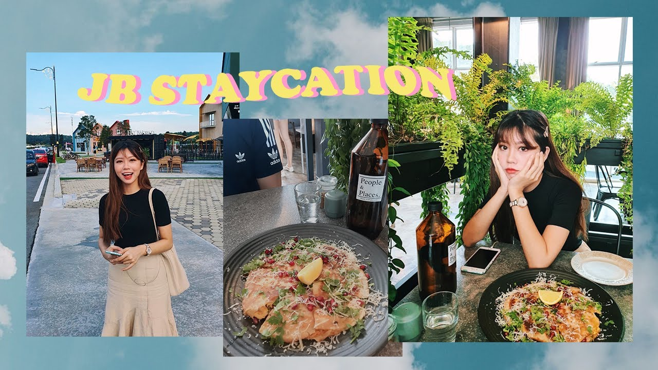 JB STAYCATION VLOG (THRIFTING, CAFE HOPPING AND MORE) | AshAisle