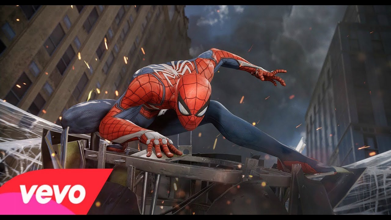 (MARVEL) SPIDER MAN PS4 MUSIC VIDEO