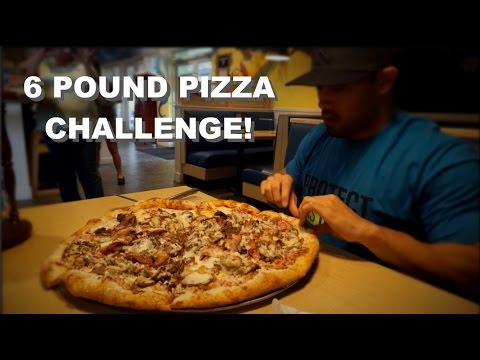 MELLOW MUSHROOM'S 6 POUND PIZZA CHALLENGE