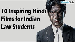 10 Inspiring / Motivational Hindi Films for Indian Law Students