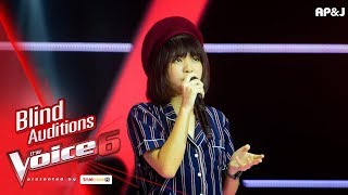 มะปราง - Stay - Blind Auditions - The Voice Thailand 6 - 17 Dec 2017