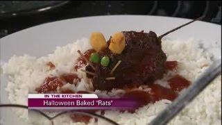 Studio 10: Halloween Food Fun Bloody Baked Meatloaf Rat