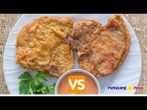 Fried Pork Chop – Ano ang Mas Gusto Mo, Lightly Breaded or Double Coated?