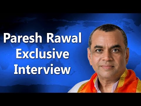 Paresh Rawal on Bharat Mata Ki Jai & JNU Issue | Exclusive Interview 2016