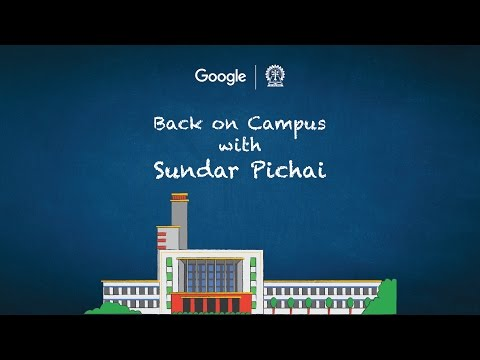 #BackOnCampus: Google CEO Sundar Pichai, Live in Conversatio