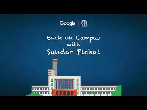 #BackOnCampus: Google CEO Sundar Pichai, Live in...